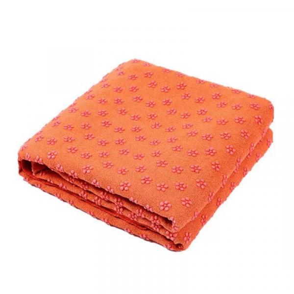 Non-slip Yoga Towel - R299.00 - Blue, Grey, Orange, Pink premium antibacterial ultra-fine microfiber. Dimensions: 183cm x 62cm: extra-long length to cover your entire mat