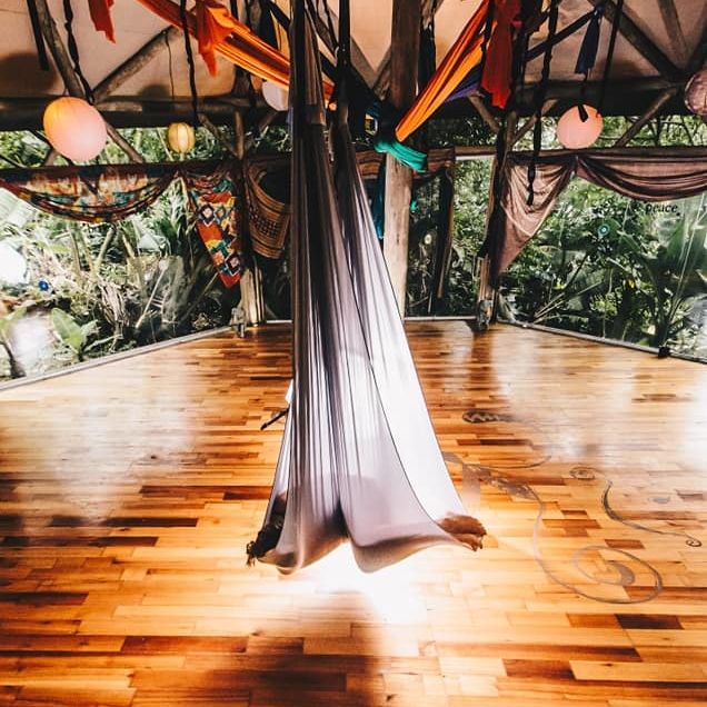 SA Yoga Hammock Suppliers from hOHM Yoga - SA Yoga Hammock Supplies are dedicated to supplying South African Yogi's with top quality Yoga Silks & Hammocks. They offer a standard and premium package which includes all the goodies you need to set up your aerial yoga practice!