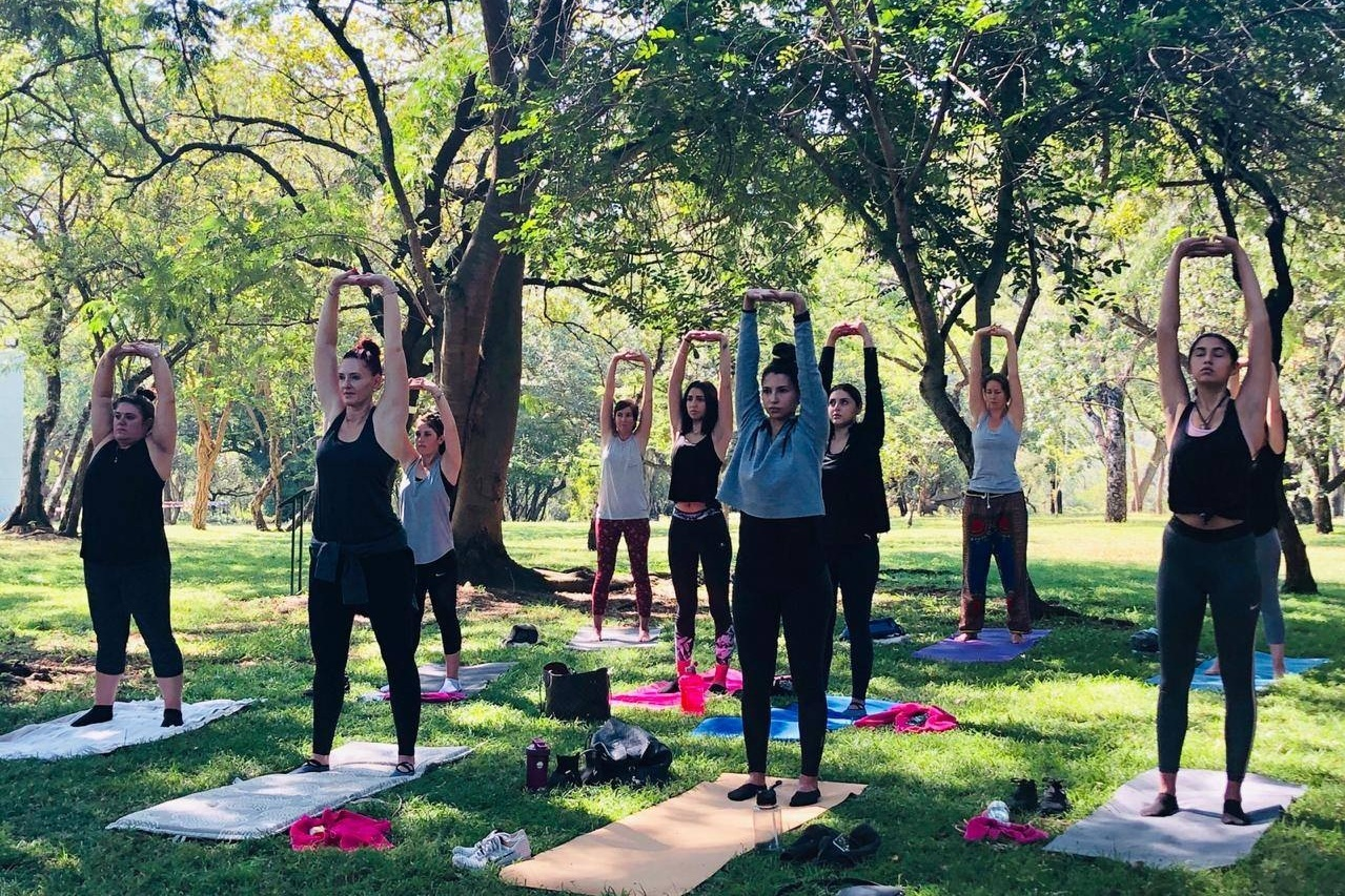 Nelspruit - 22 June 9:00-12:00Red Leaf Cafe' Lawn, Lowveld Botanical GardensYoga, Breathwork, Kiddies Yoga. No charge, R35 entrance into the Gardens