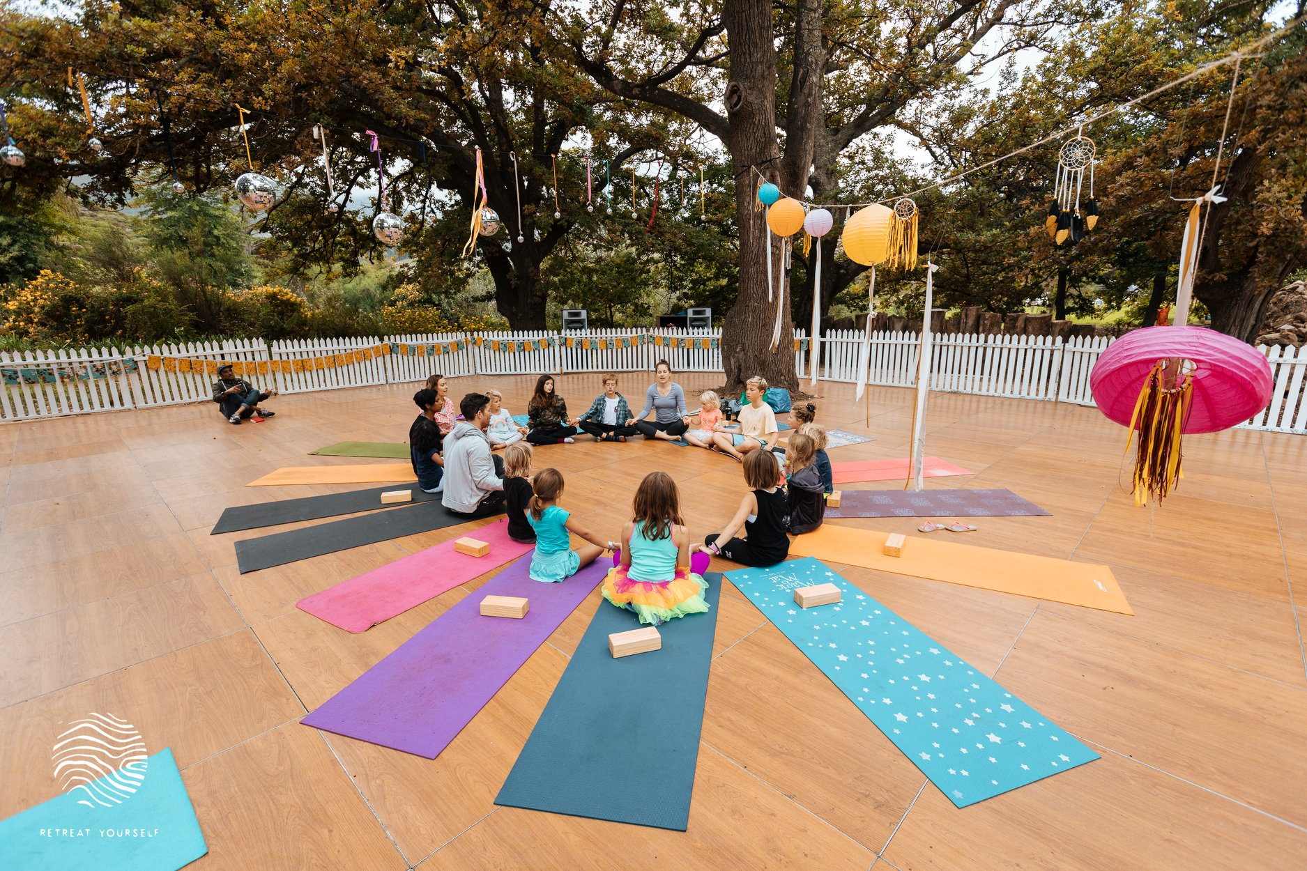 Children's Yoga at Retreat Yourself