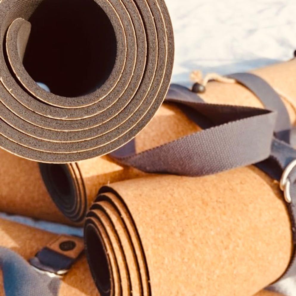 Cork & Natural Rubber Yoga Mat - R960.00