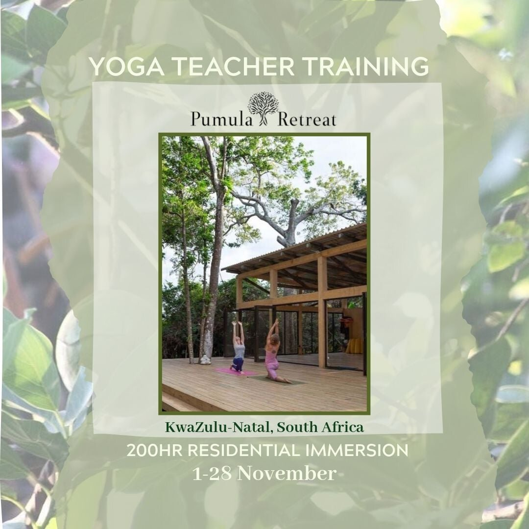 Hosted by Inner Wellness Studio and Pumula Retreat - Prices from R29 900Early bird before 1 September
