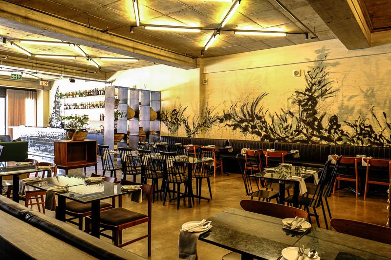 Restaurant im Hallmark House