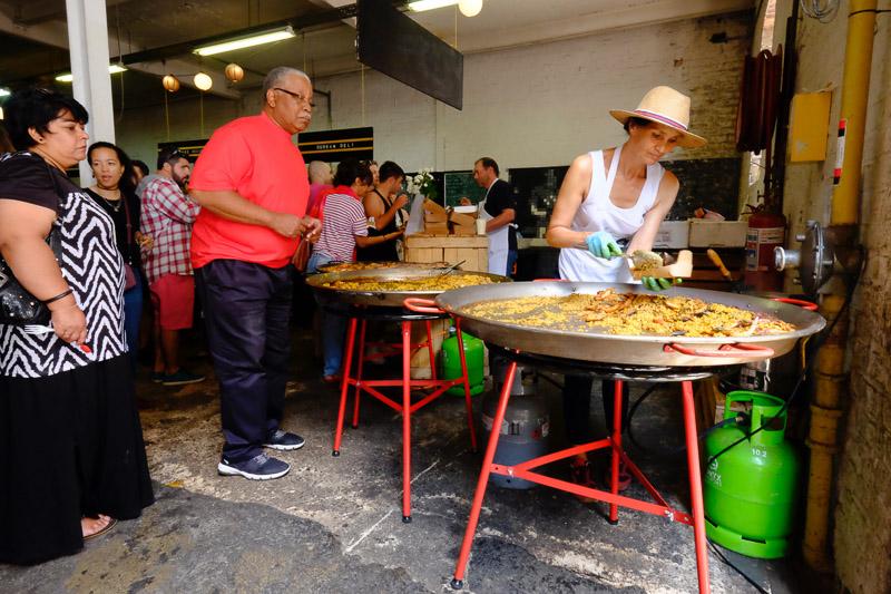 Paella und andere Leckereien