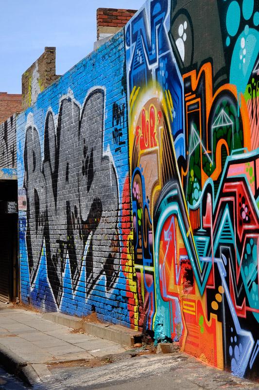 Graffitis von BIAS und MARS