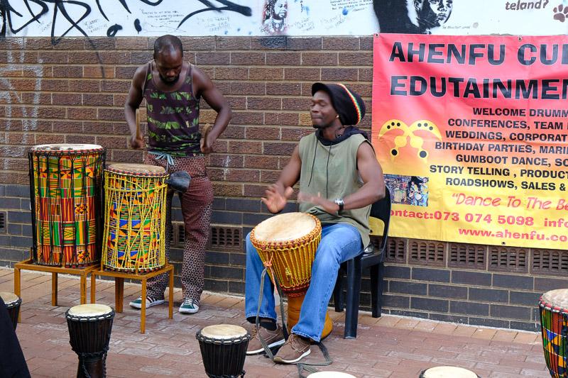 Die Strassenmusiker von Maboneng