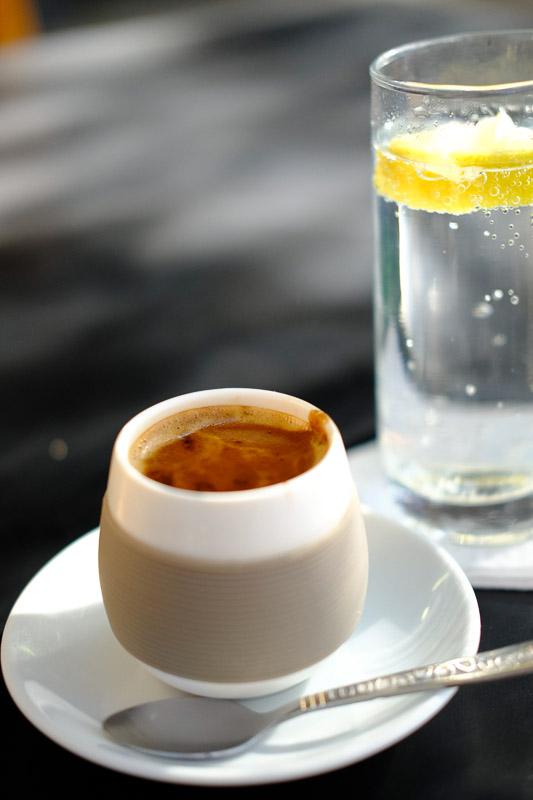 Äthiopischer Kaffee bei James ist der Beste