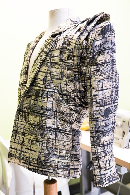 Jacket aus der Produktion von Bayanda Khathini