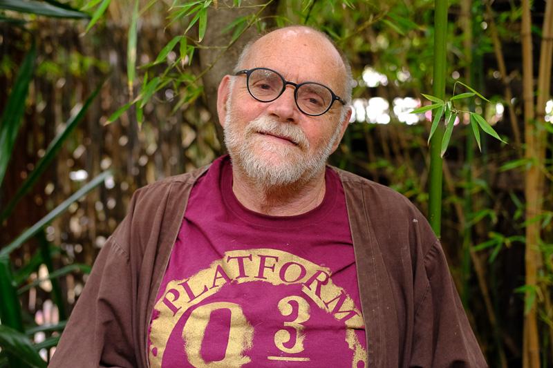 Andrew Lindsay, Begründer der Spaza Gallery