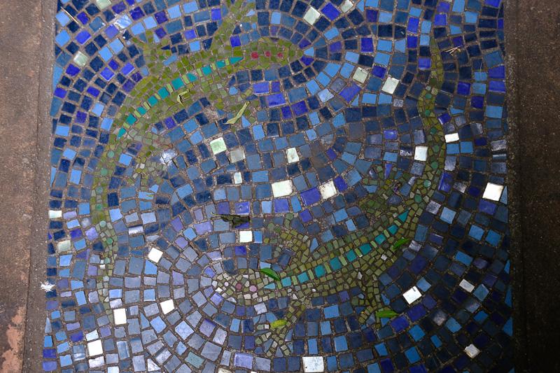 Eines der unzähligen Mosaiken von Andrew Lindsay