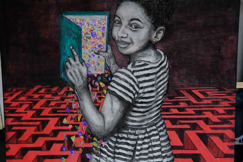 """Unlearning afrofuturism"" von Goodlord Shoyisa"