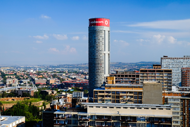 Ponte Tower in Hillbrow