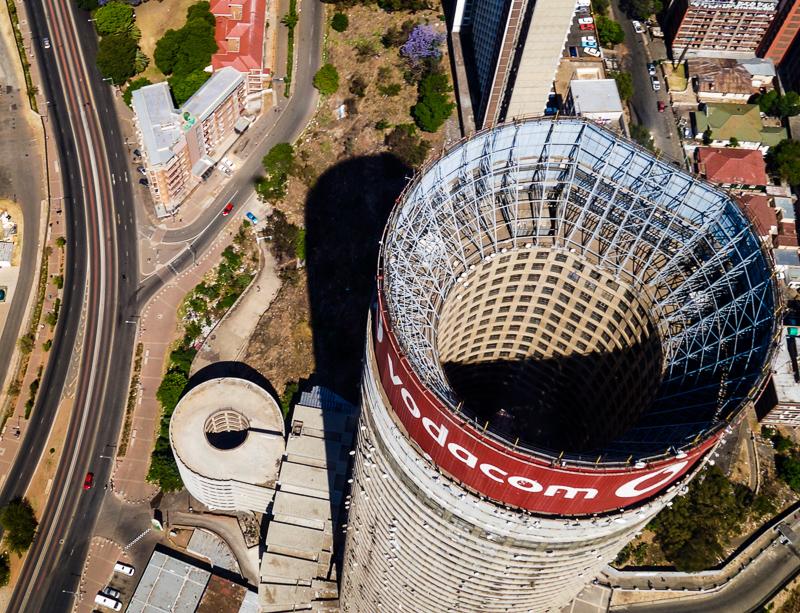 Helikopterflug 2015, Ponte Tower von oben