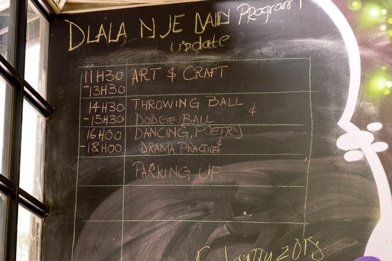 Ein Tagesprogramm für die Kinder von Hillbrow