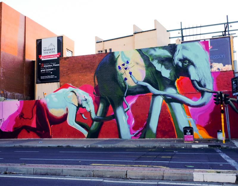 Die Elefanten von dem Graffiti Künstler Falko1