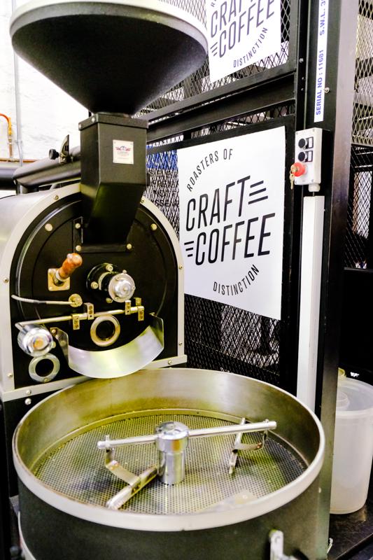 Einen leckeren Kaffee im Craft Coffee sollte man sich zwischendurch gönnen.