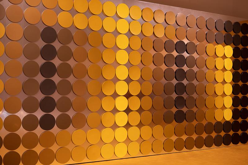 Wanddekoration aus dem Speisesaal der deutschen Bundesbank von 1972