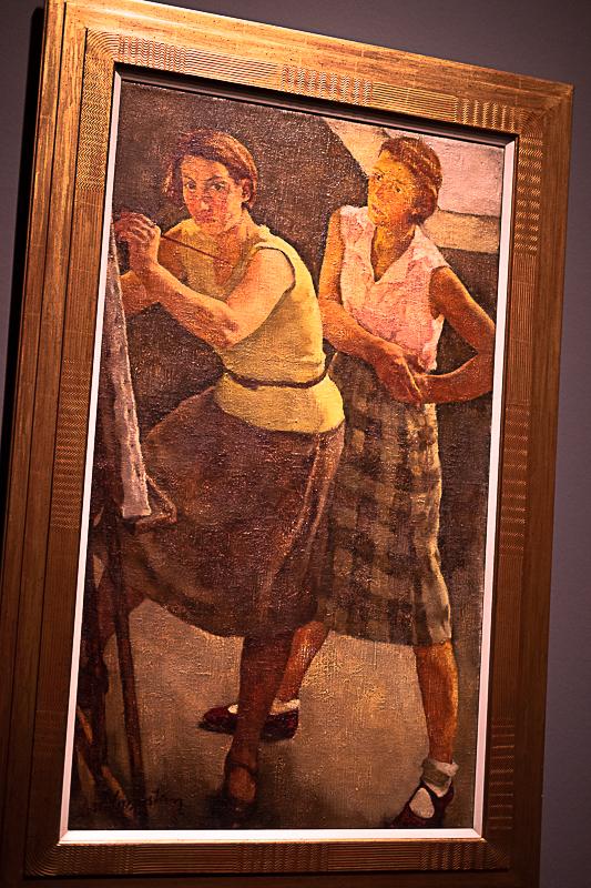 Lotte Laserstein mit Traute Rose, zwei Frauen, die selbstbewußt und modern waren