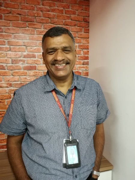 Alosius A/L Johny, Maintenance Operation Executive, 20 years working at AirAsia