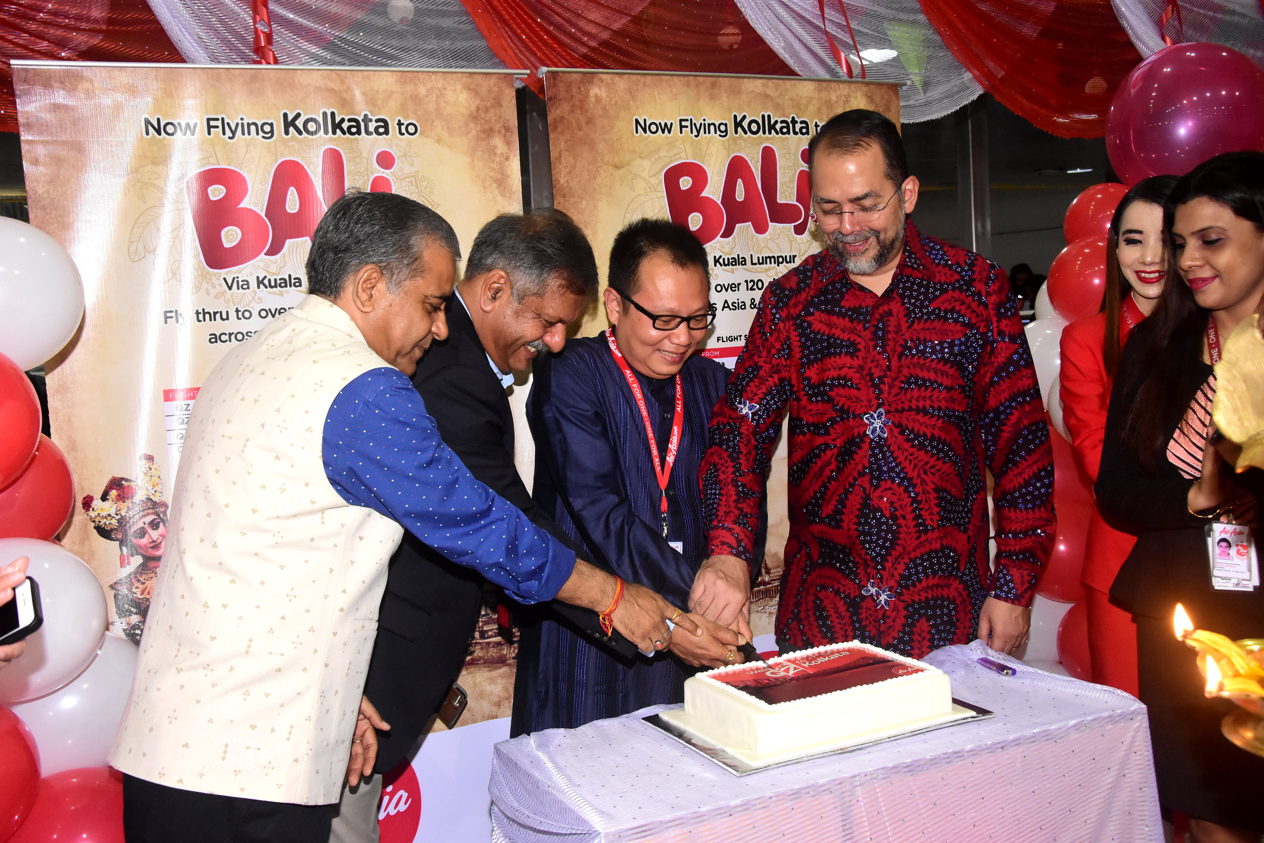 Kolkata - Bali Inaugural Flight (1).JPG