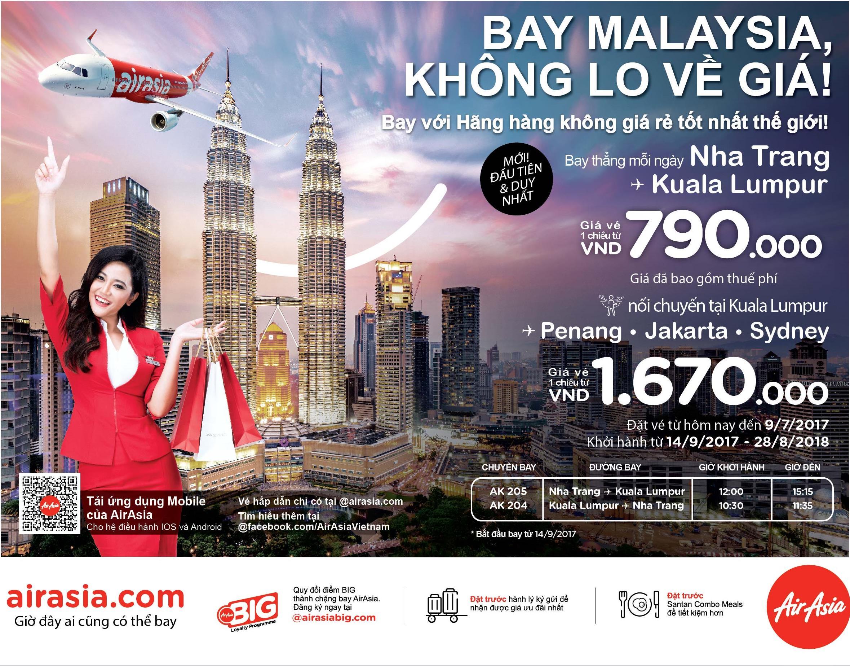 07 AirAsia Introduces New Destination from Nha Trang to Kuala Lumpur, Malaysia_1.jpg
