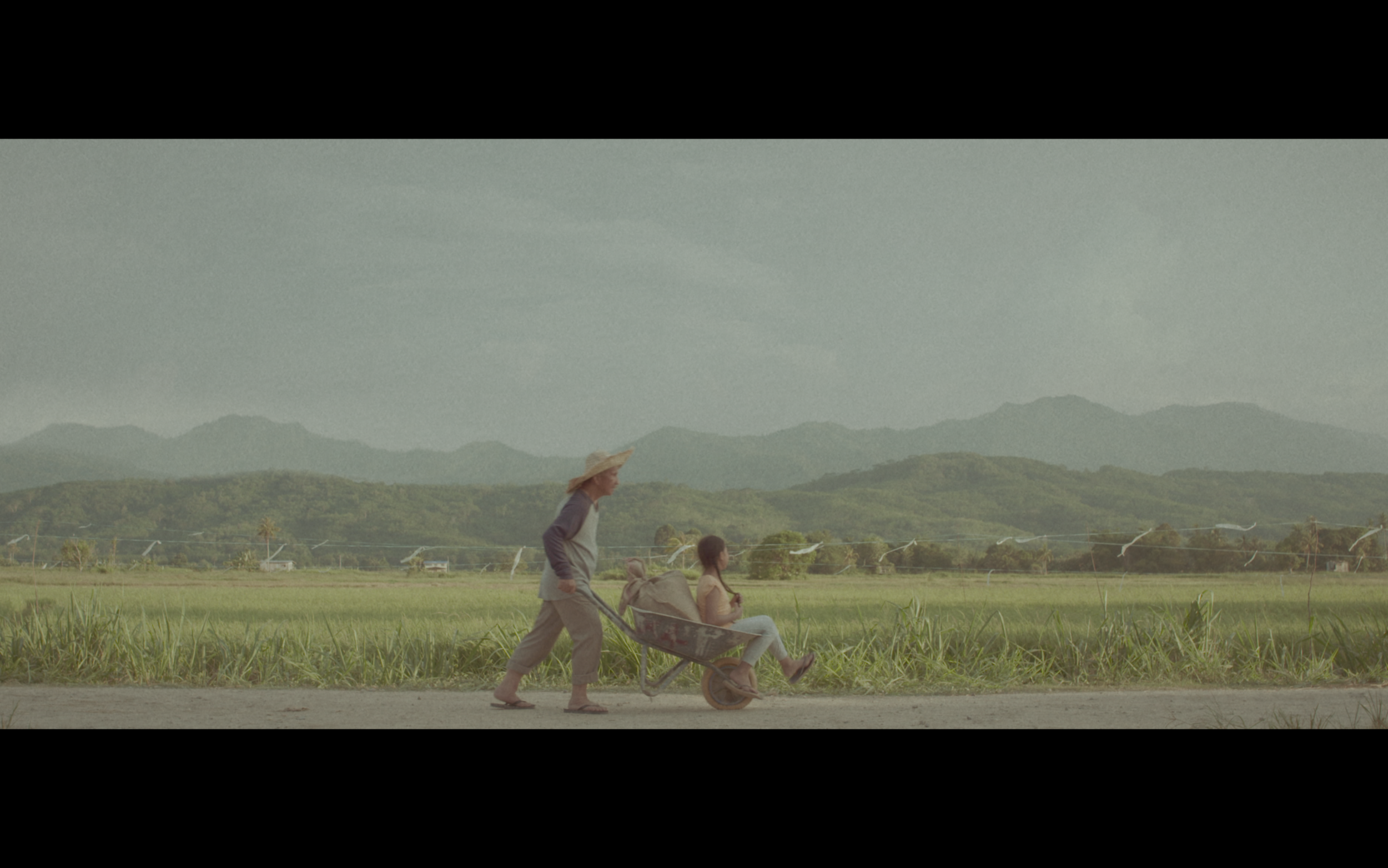 A scene from AirAsia Hari Kaamatan and Gawai video, 'A Girl Who Loves Rice.'