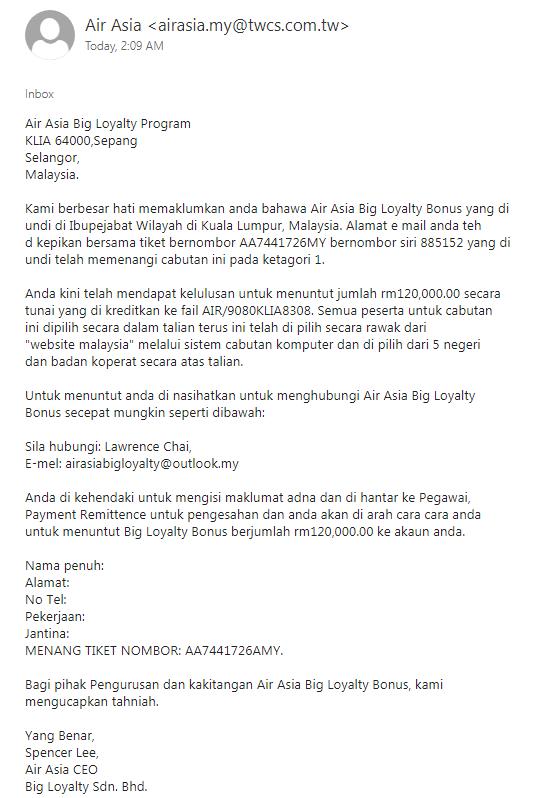 BIG Loyalty Scam 21 June 2019.png