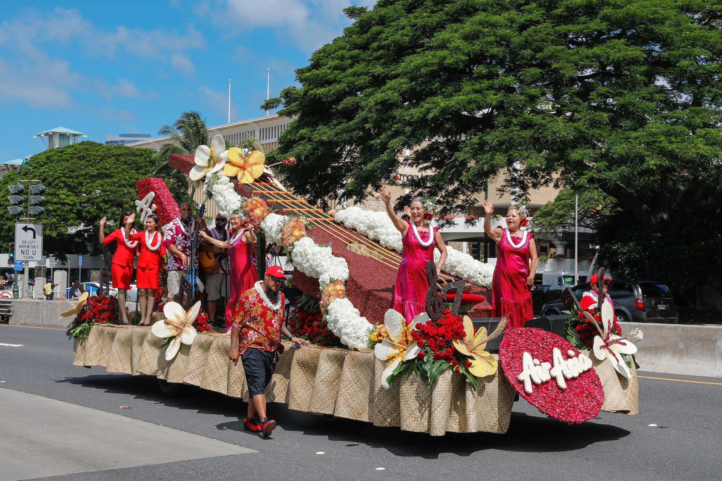 Aloha Festival 2019 Honolulu Hawaii USA
