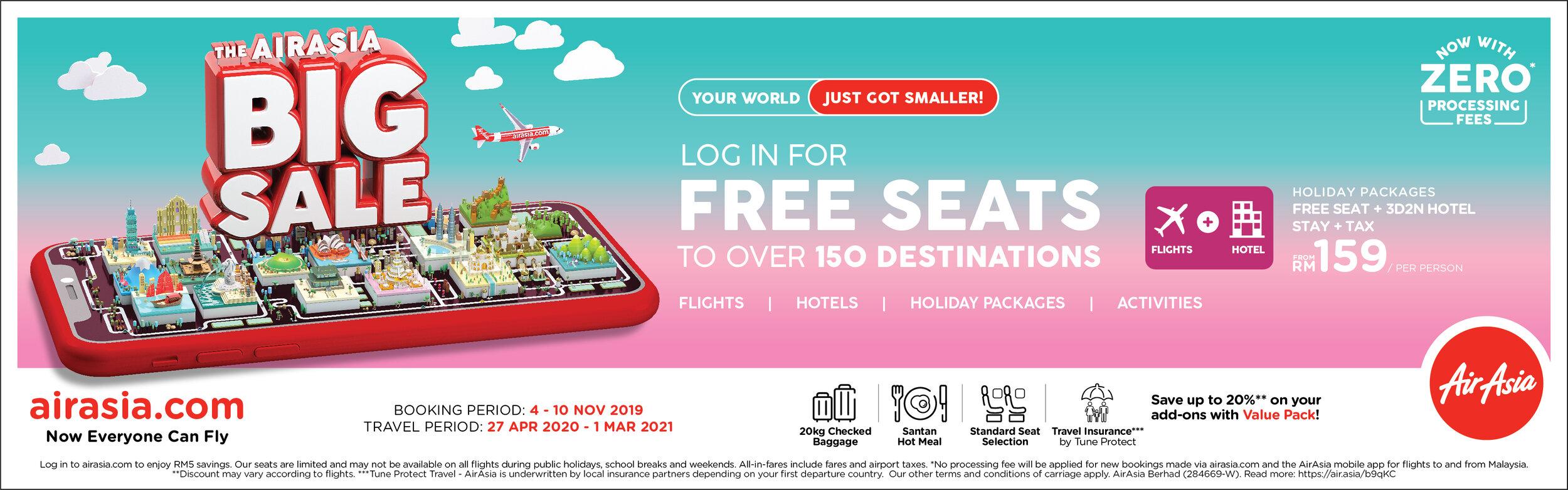 Airasia promotion 2020 malaysia