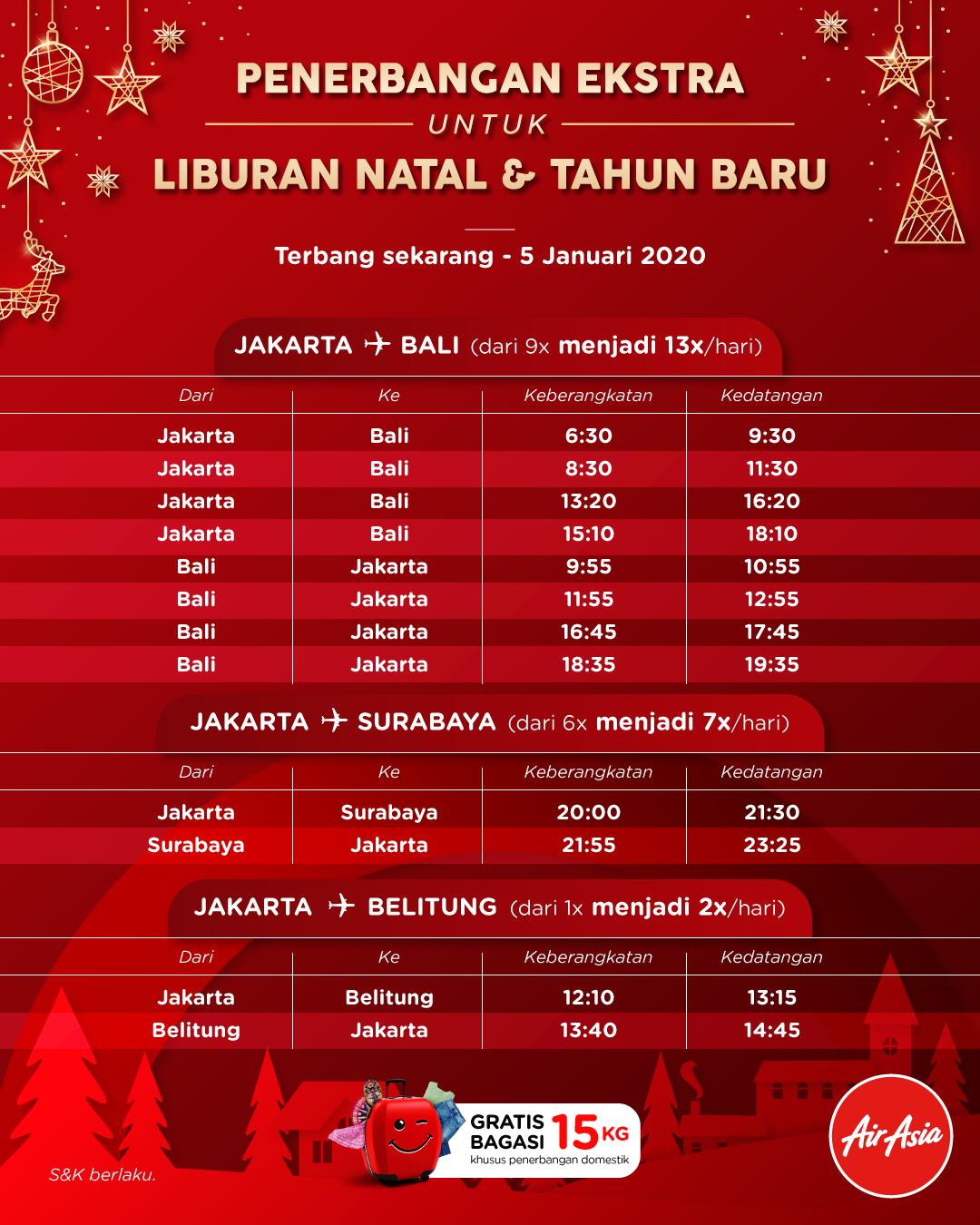 Sajian Spesial Airasia Sambut Libur Natal Dan Tahun Baru Airasia Newsroom