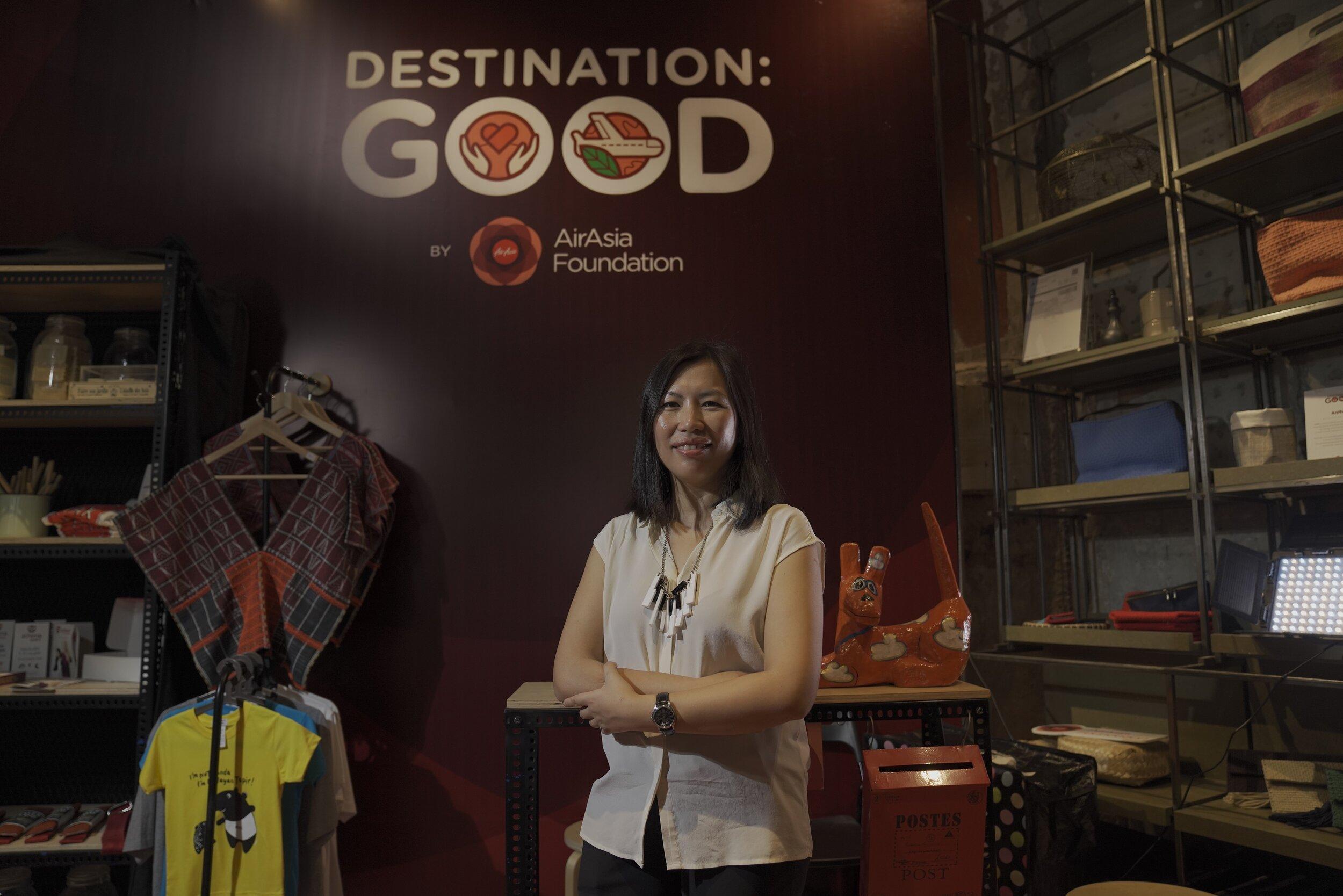 Keterangan gambar: Pengarah Eksekutif Yayasan AirAsia Yap Mun Ching.