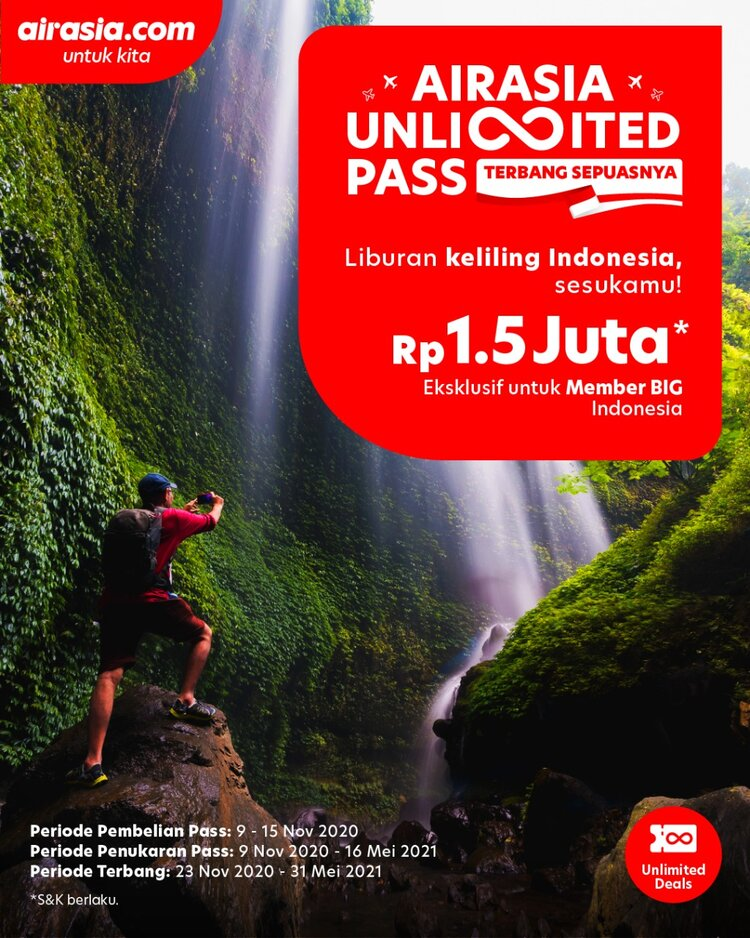 AirAsia Unlimited Pass.
