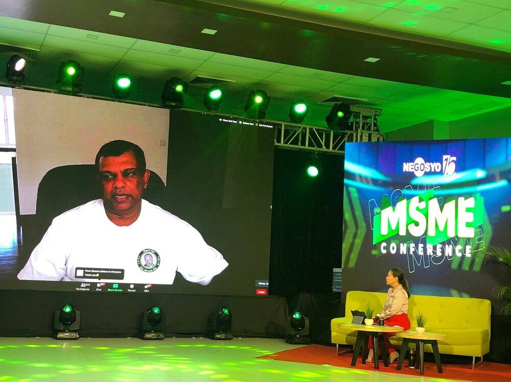 Tony Fernandes, CEO of AirAsia Group at the Go Negosyo MSME Conference 2020