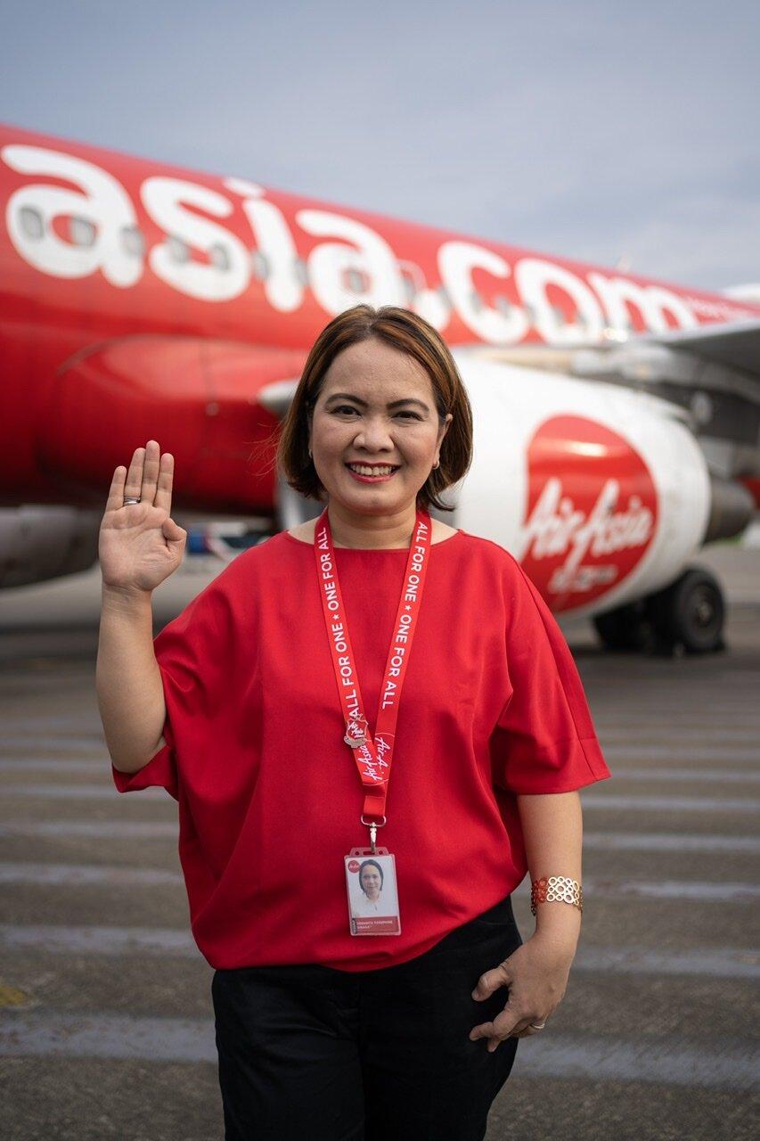 Ketua Pegawai Eksekutif Airasia Indonesia Veranita Yosephine