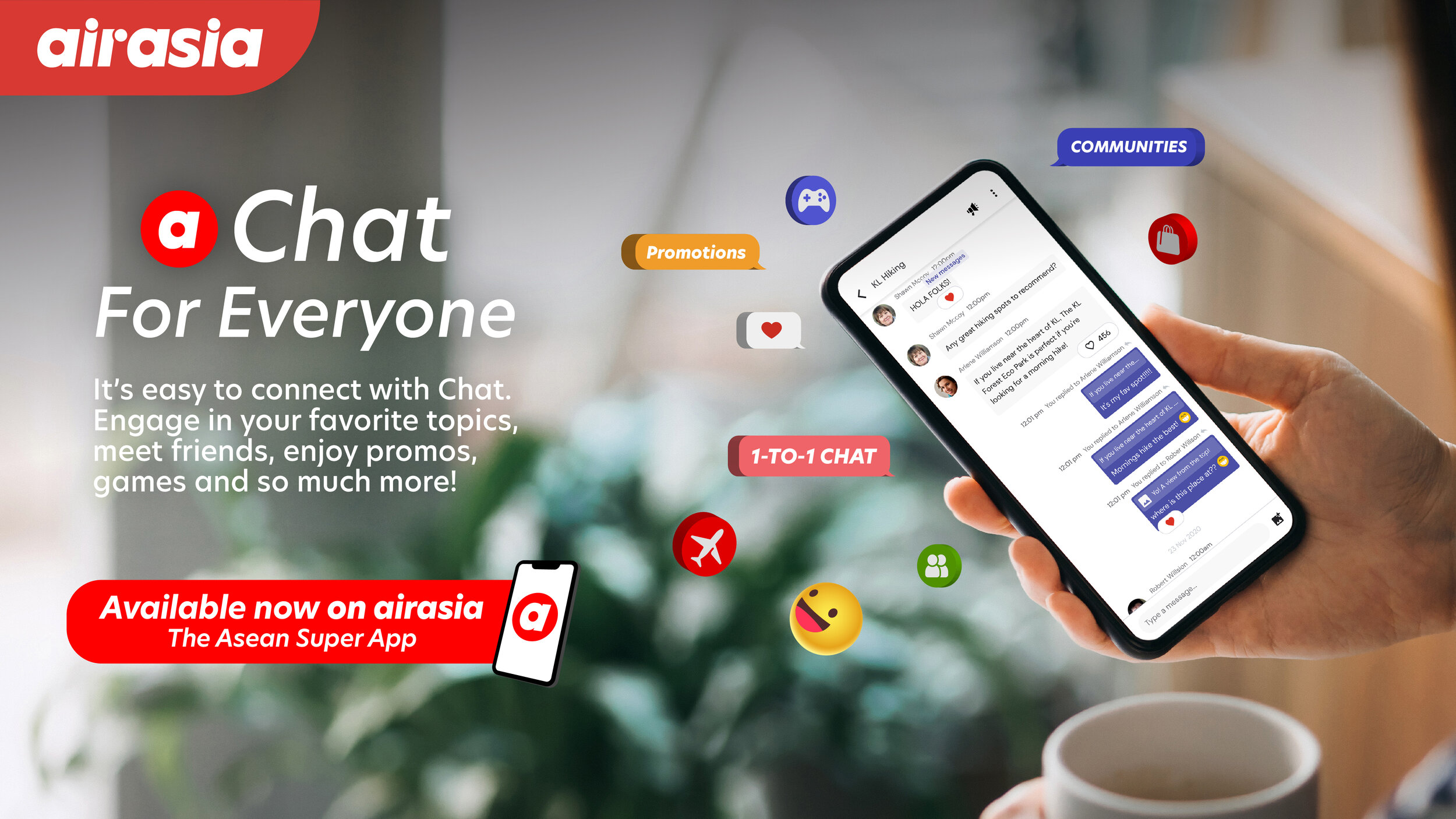 AirAsia Chat Is The Latest Addition To The Company's Super App 18