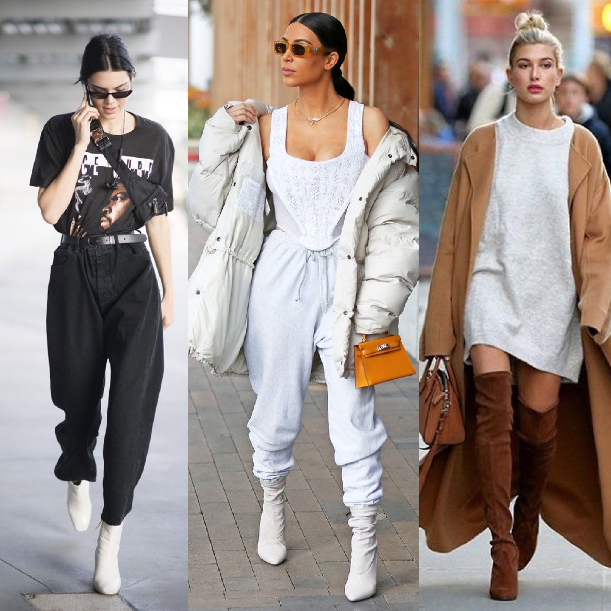 Here is some examples of how these celebs have made the 'baggy' look work.
