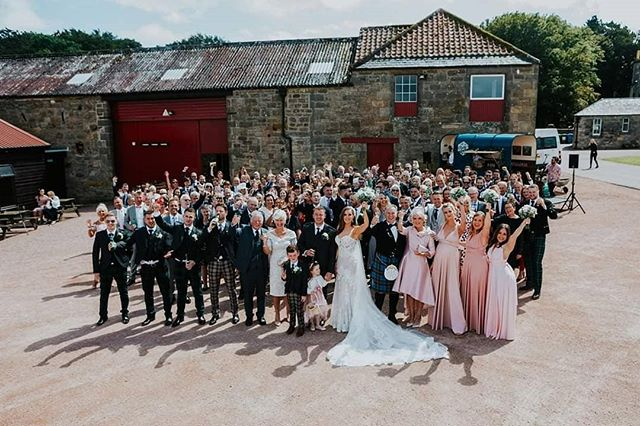 "Amanada & Glen @kinkell_byre 13/7/19 Images: @rossalexanderphoto ""Hi Billie/Chris,  So sorry it has taken me so long to get round to thanking you for making our Wedding day the best day of our lives!  We had the best day ever and I would say from speaking to everyone, you guys were their favourite part of the day! I'm absolutely gutted I didn't get to properly stand for a good length of time and take it all in but hoping the videographer will be able to give me a bit of an insight!  Thank you so much again, hope you are both well!  Love Amanda and Glen xx"" . . . . #pianobar #horseboxbar #weddingmusic #drinksreceptionmusic #ceremonymusic #cocktailreception #weddingplanning #eventplanner #weddingplanner #piano #barhire #scottishwedding #rustic #rusticwedding #entertainment #entertainer #ricehorsebox #rustyspianobar #mobilebar #travellingpianobar #wearetheweddingcollective #theweddingcollective #festivalmusic #corporateentertainment #eventideas #kinkellbyre"