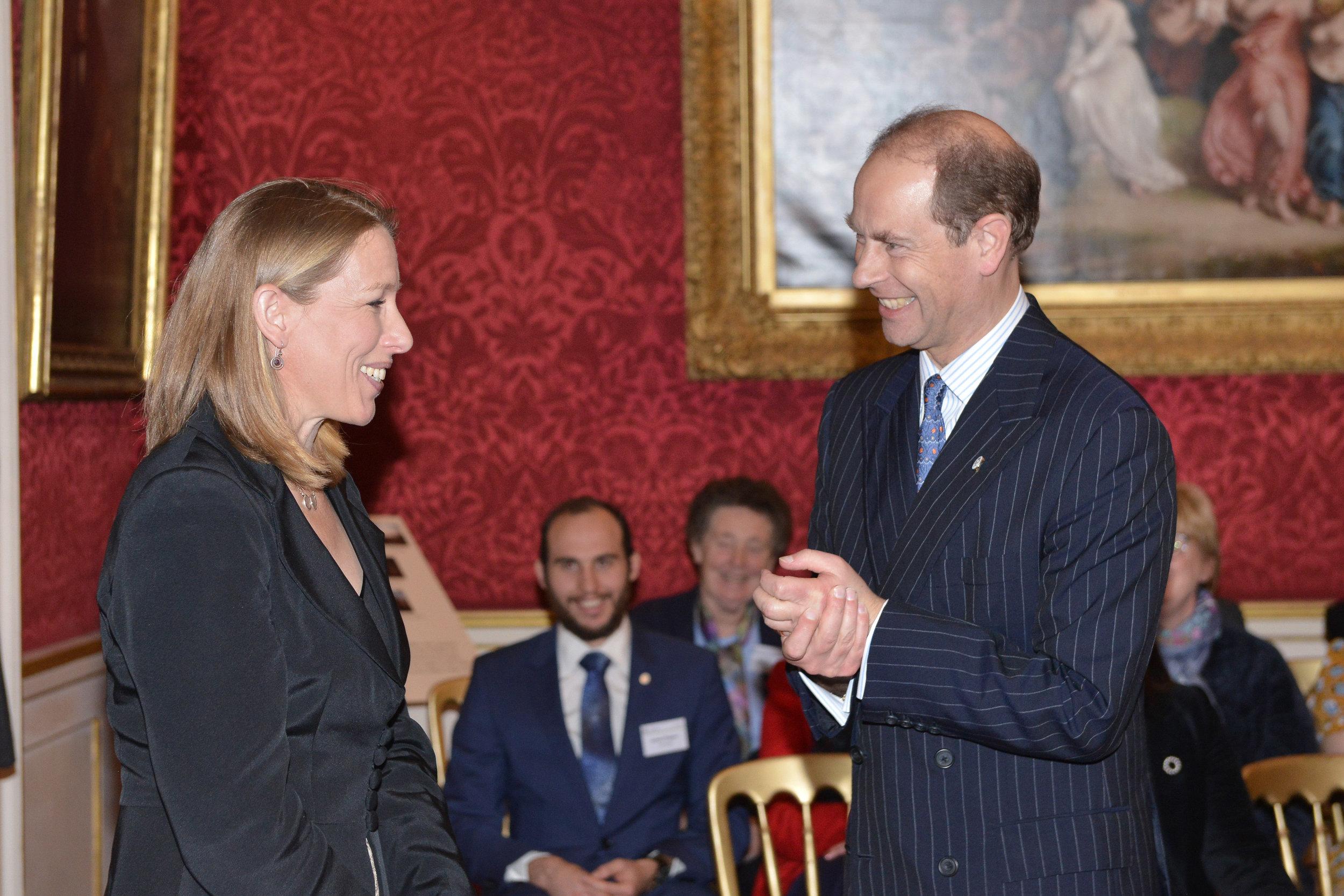 DofE Gold Awards presentation at St. James's Palace. December 2018