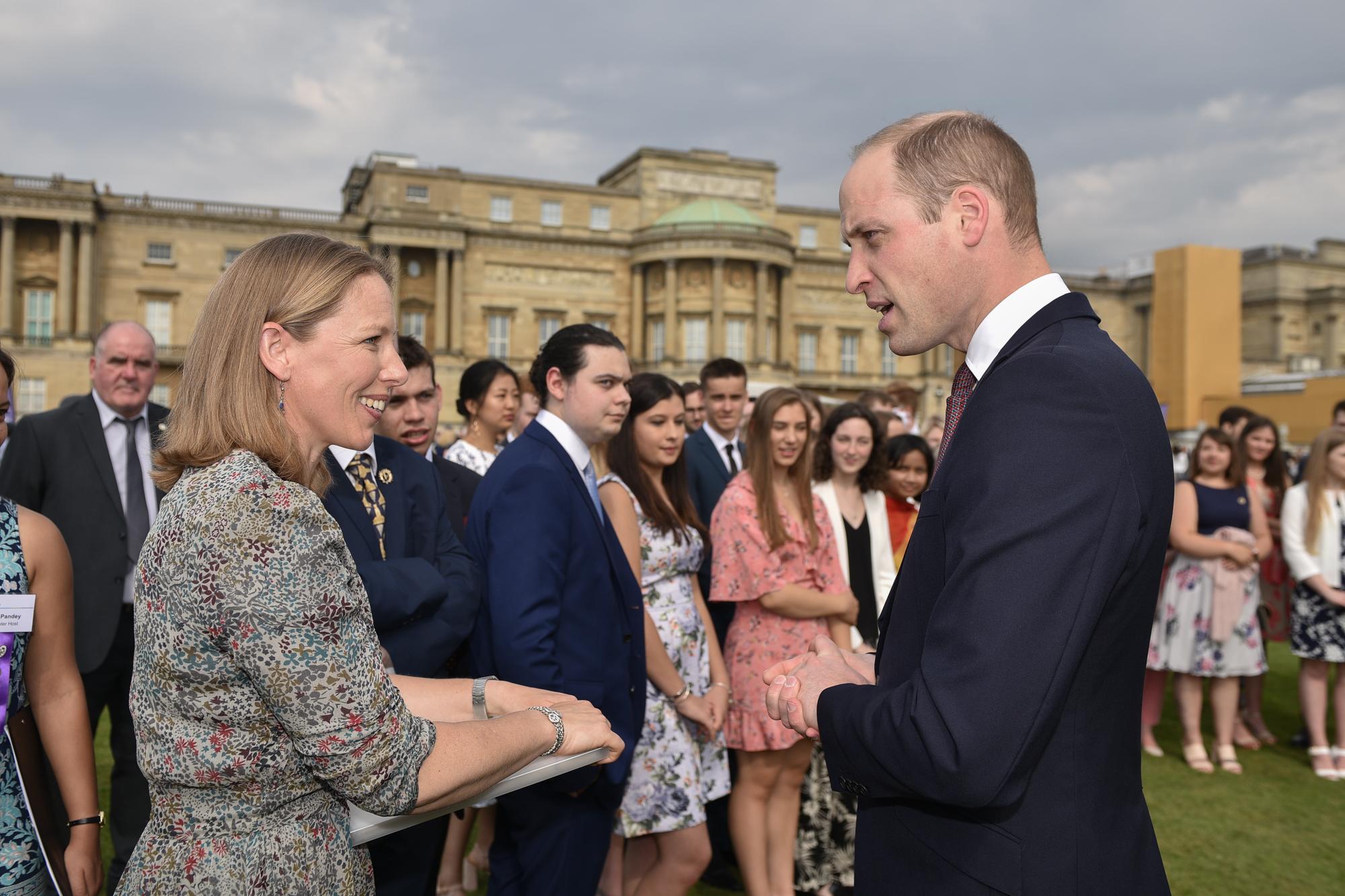 Gold Awards presentation at Buckingham Palace, May 2018