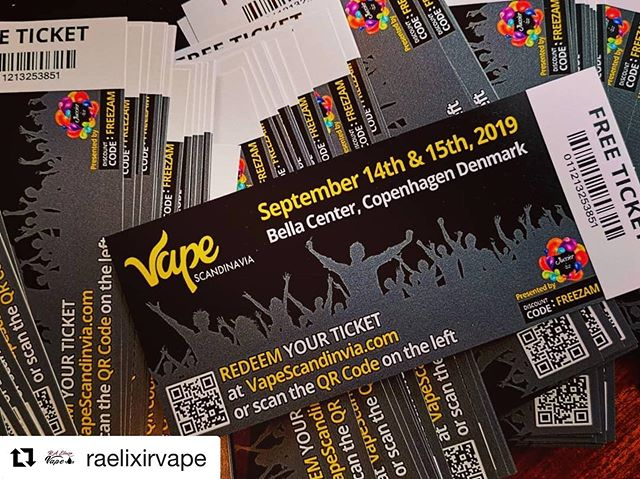 "@raelixirvape ・・・ Hi guys, If you want a go to the begets Vape Meeting in Scandinavia, you're welcome to come to our Vape-Tattoo shop on ""Österlånggatan 33"" and get your FREE TICKET. Yes, FREEEEEEEE 😉❤️ #vapelife #vapecommunity #vapestagram #vapeon #DRIPGRAM #instavape #vaping #subohm #vapedaily #ejuice #vapenation #wholesale #eliquid #distro #vapehooligans #coilporn #vapepics #vapeshop #notblowingsmoke #dripclub #cloudchasing #worldwidevapers #handcheck #vapefriends #vapefam #vapefamily #vapelove #vapedaily #ecig"