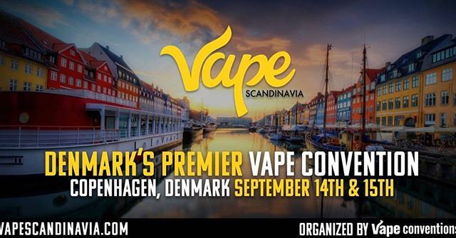 @vapeconventions, the people who brought you Vape South America is on their way back to Scandinavia!! @vapeconventions excited to be back in the beautiful Copenhagen, Denmark. This is our 2nd annual expo here that is going to be bigger and better (and there will be A/C this time!!) Sample and purchase products from 100+ of the world's largest and most popular vape brands who will be exhibiting their latest e-liquids, hardware and other vapor products at our expo  Local Vaping Advocacy groups will be on hand all weekend to discuss the current state of the industry in Northern Europe.  CONTACT US TO BUY BOOTH SPACE OR SPONSORSHIP . . . #vapelife #vapeporn #vapelyfe #vapecommunity #vapefam #Vaping #vapeon #subohm #eliquid #cloudchaser #vapedaily #vapenation #ecig #general vapers #vapelove #girlswhovape #vaper #dripclub #mod #vapes driplife #smoke #instagermany #denmark #sweden #copenhagen #vapescandinavia