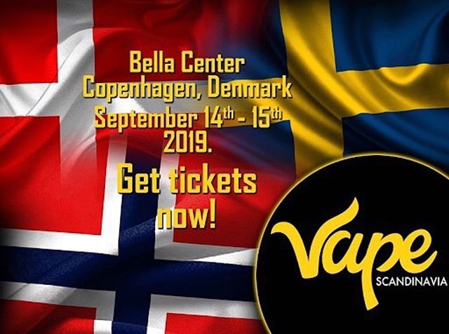 Introducing @vapescandinavia on September 14th - 15th , 2019  at  Bella Center Copenhagen, Denmark 🇩🇰 . . . #denmark #sweden #copenhagen #vapescandinaviaexpo #vapedenmark #vapecph #denmarkDK #cphvapers #cphvape #copenhagenDK #copenhagendenmark #copenhagenlife #swedenvapers #swedenvapes #swedenvapors #norwayvape #norwayvaper #norwayvapers #norwayvapenorwar #damphuen