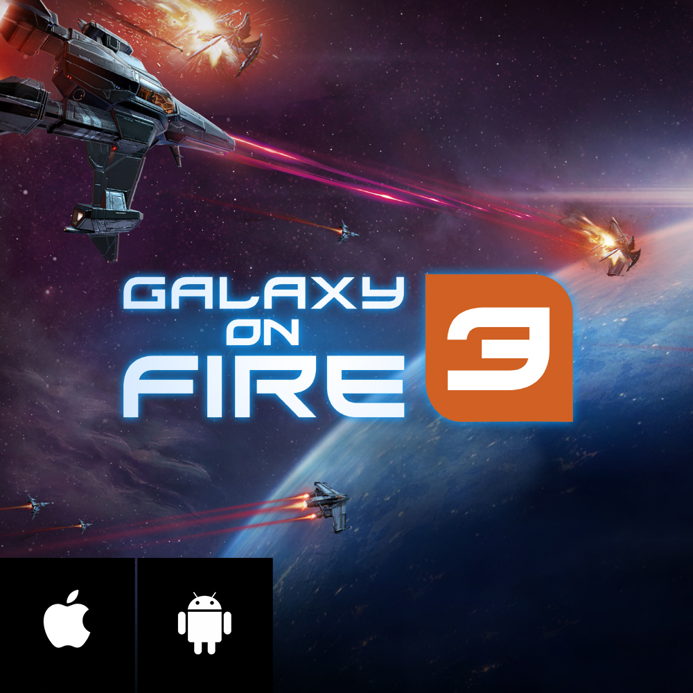 GALAXY ON FIRE 3 - Enter the hazardous Neox Sector and take down the galaxy's most wanted criminals in the #1 sci-fi shooter on mobile! Explore stunning locations, fly spectacular ships and mount powerful weapons!