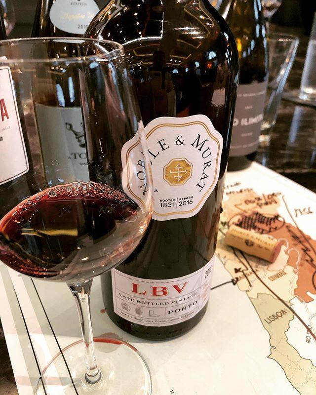 Noble&Murat LBV 2012, From the Pinhão Valley in the Douro, a fresher 100% stem, no temp control, classic Port wine. #noblemurat#port#oleobrigado#portwine#winesofportugal🇵🇹