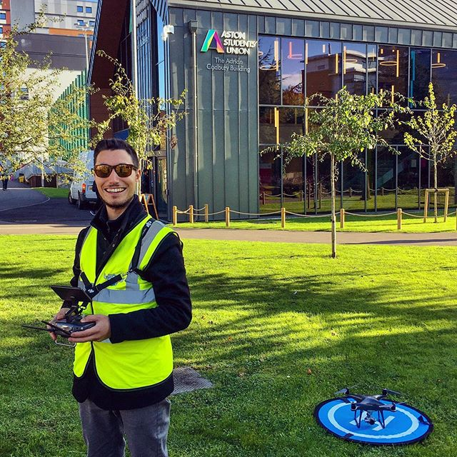 Up in #Birmingham today for a drone shoot with @wagamama_uk at @astonuniversity! Extremely happy that the weather stayed clear! . #dronevideo #dronephotography #dronefilm #phantom4pro #filmmaker #film #filmmaking #cinematography #director #cinema #photography #cinematographer #shortfilm #producer #indiefilm #filmproduction #videography #filmmakers #video #videographer #behindthescenes #photographer #production #videoproduction