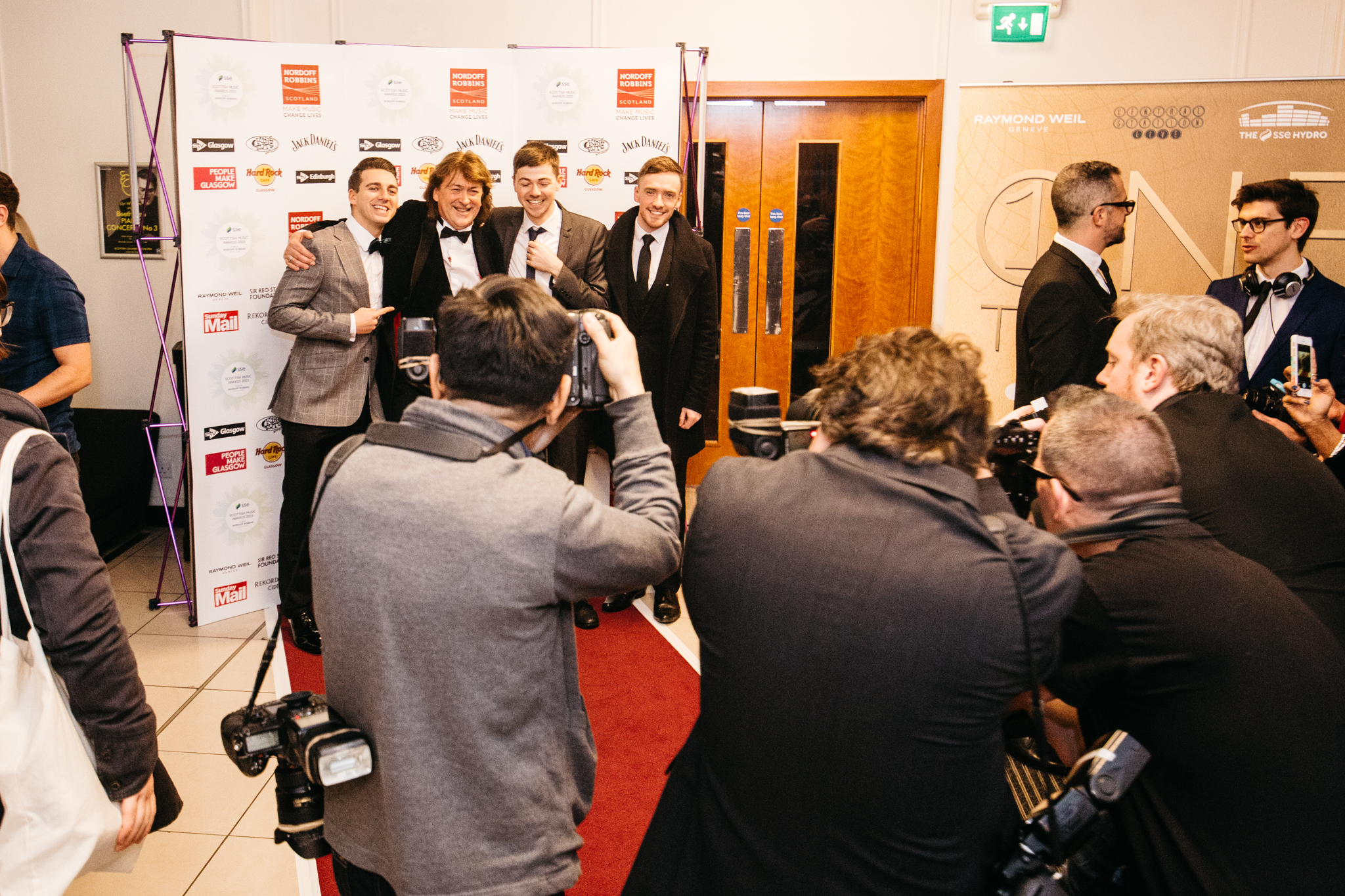 Scottish Music Awards - Creating a nationwide press campaign for the Scottish Music Awards in order to raise funds for music therapy charity Nordoff Robbins Scotland, helping take the annual event to become a major fixture on the annual live music industry calendar over 10 years.