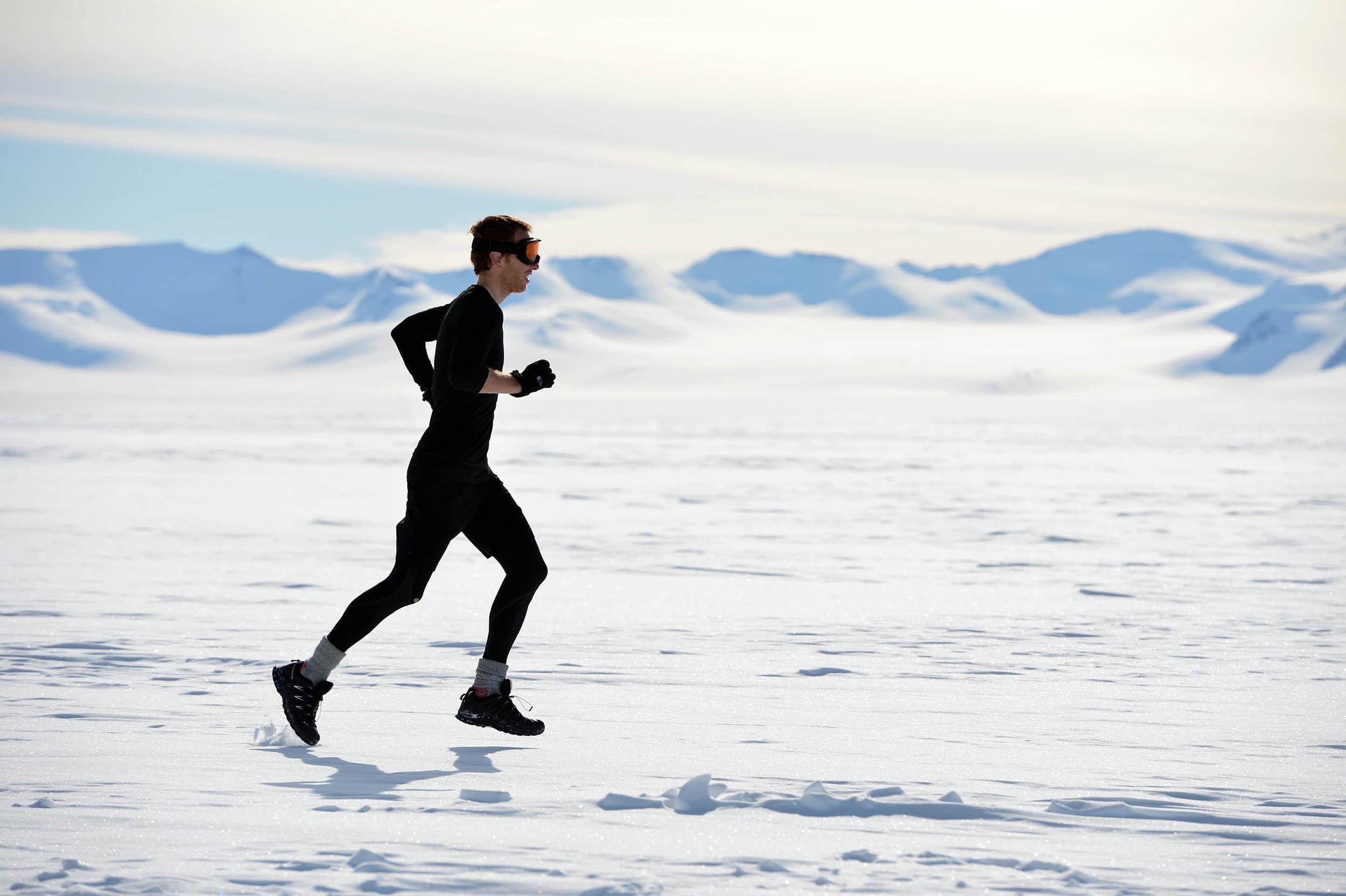 Dr Andrew Murray Run The World - International press campaign for Andrew Murray, a GP, and the Scottish Government's Physical Activity Champion running seven ultra marathons on seven continents over seven consecutive days.
