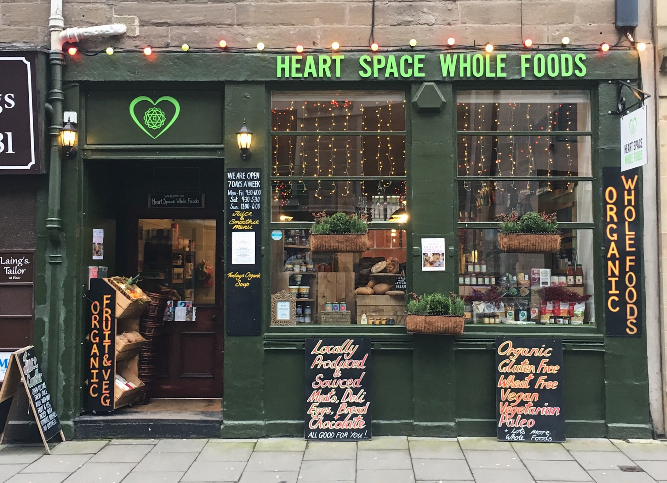 Heart Space Wholefoods - Chris Hunt works as HS Wholefoods Marketing & Comms consultant, working strategically on internal and external strategies for the owners of this exciting and much loved retail brand.