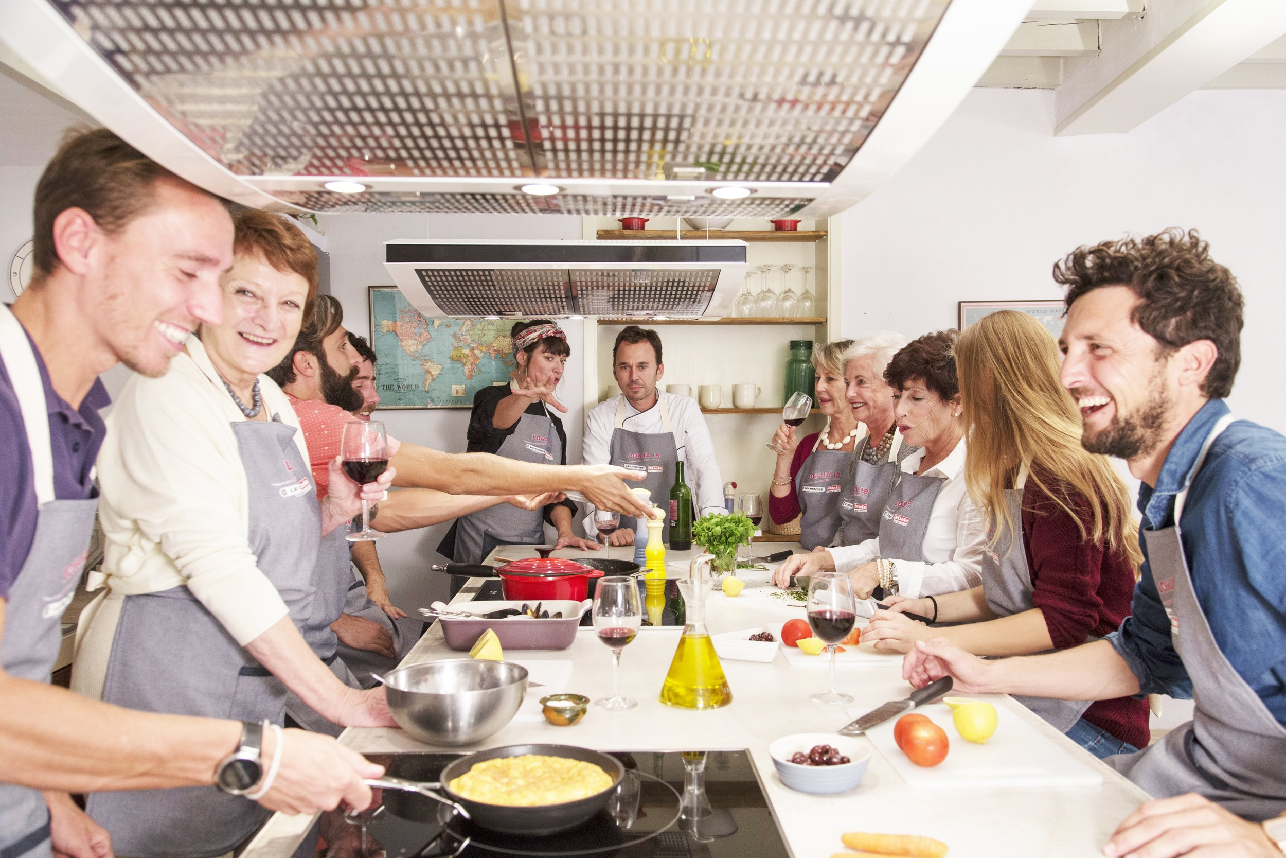 Lonja 18 - Cooking Class