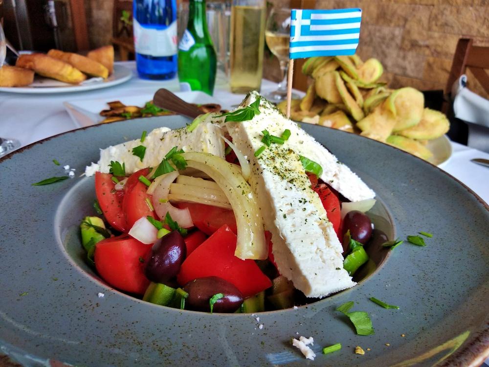 Greek Salad - The Mediterranean Lifestyle
